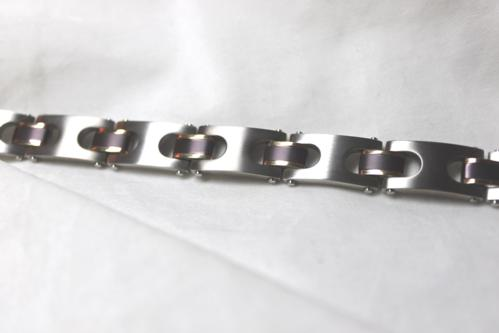 Men's Classic Link Bracelet - Item # B5120 - Reliable Gold Ltd.