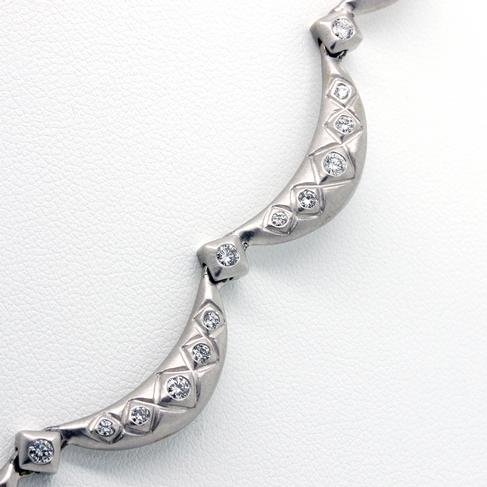 Everyday Diamonds In White Gold Necklace - Item # N3020 - Reliable Gold Ltd.