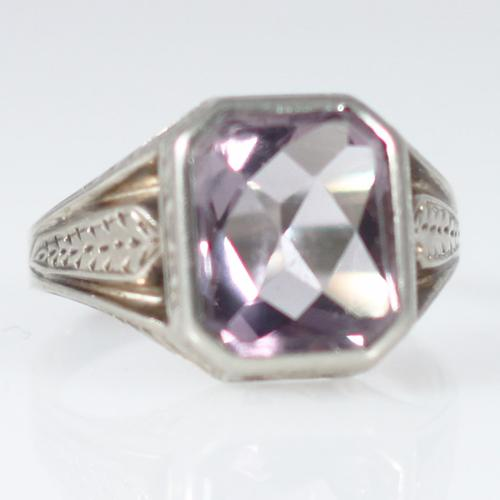 Amethyst Statement Men's Ring - Item # NIR507E - Reliable Gold Ltd.