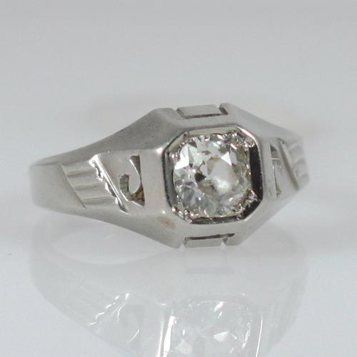 Diamond Ring With Presence - Item # R2384A - Reliable Gold Ltd.