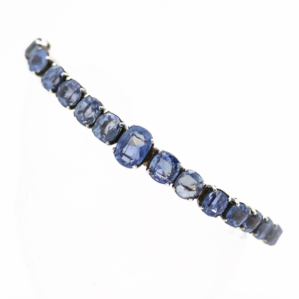 Estate Sapphire Bracelet - Item # B0206 - Reliable Gold Ltd.