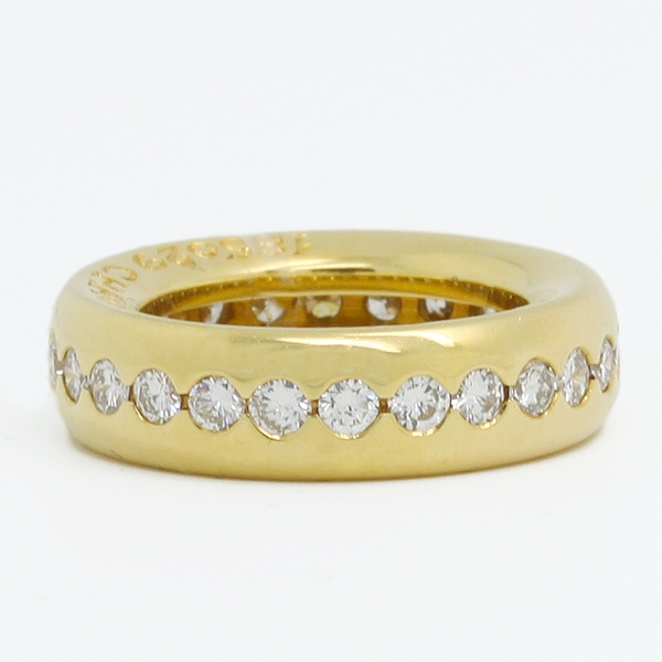 Chaumet Diamond Band - Item # JHM008 - Reliable Gold Ltd.
