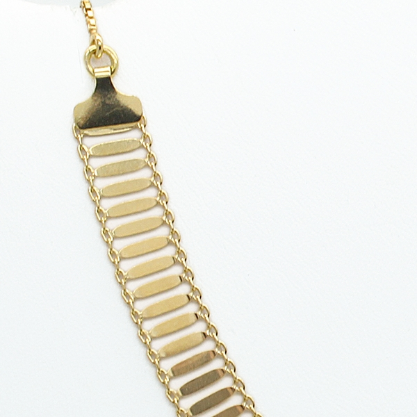 Gold-Plated Adjustable Length Necklace - Item # N0150 - Reliable Gold Ltd.
