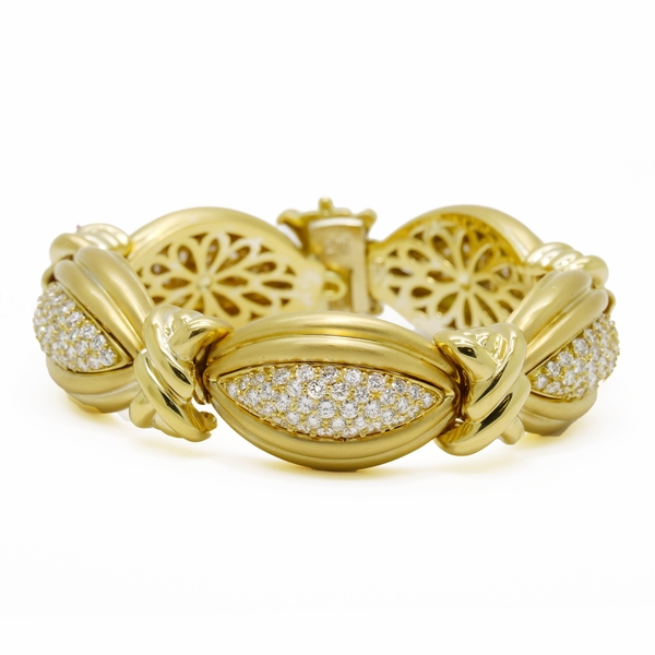 Diamond Bracelet By Hammerman Brothers  - Item # EHM01 - Reliable Gold Ltd.