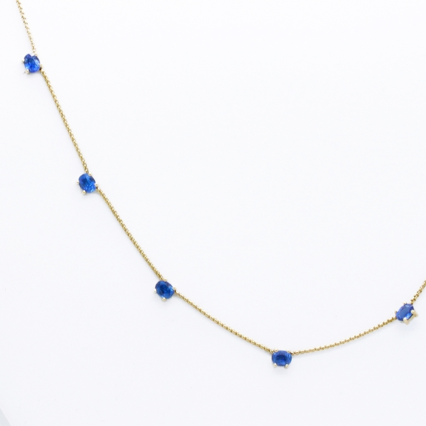 Kyanite Necklace - Item # N0346 - Reliable Gold Ltd.