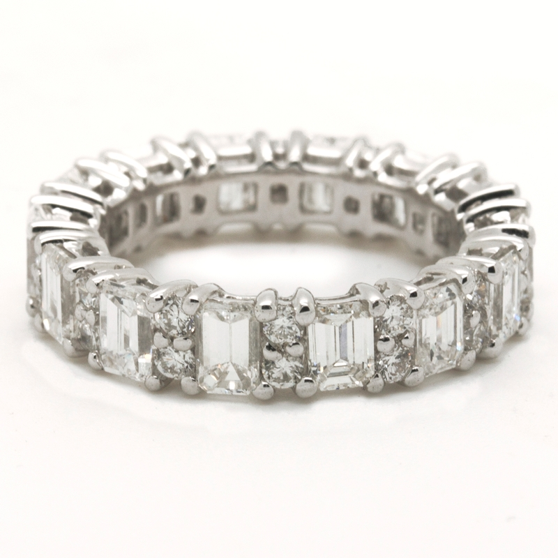 Glittering Eternity Diamond Band - Item # R0220 - Reliable Gold Ltd.