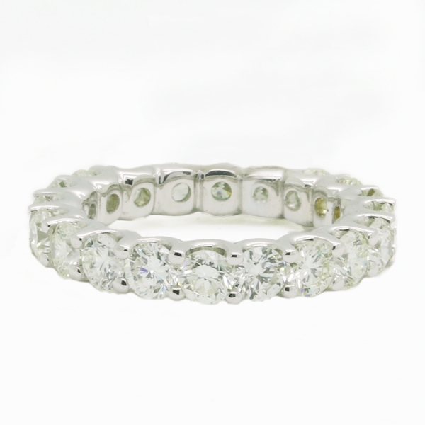 Large Diamond Eternity Band - Item # R1671 - Reliable Gold Ltd.