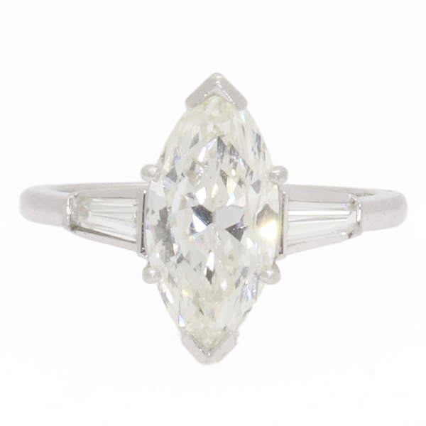 Marquise Diamond Ring Stunner - Item # 1000016 - Reliable Gold Ltd.