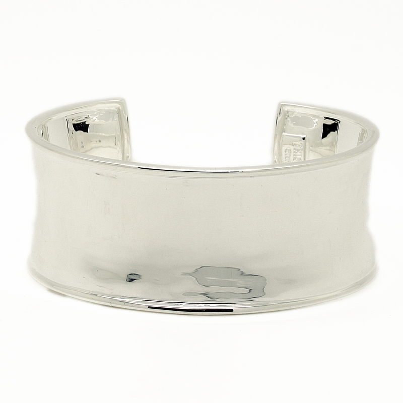Solid Sterling Silver Cuff Bracelet - Item # B0010 - Reliable Gold Ltd.