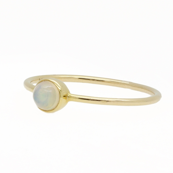 Yellow Gold Opal Ring - Item # HM0348 - Reliable Gold Ltd.