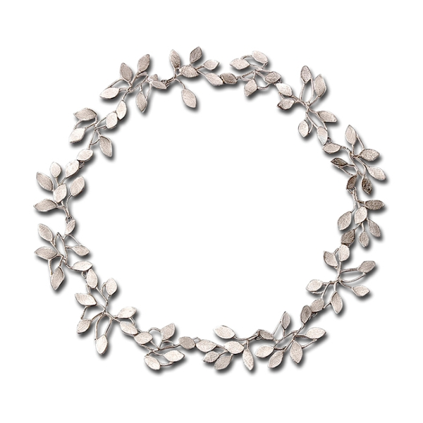 Wisteria Vine Silver Necklace - Item # N0352 - Reliable Gold Ltd.