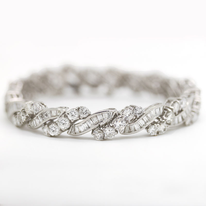 baguette diamonds brilliant lovely bracelets round alternating tennis diamond j and l baguettes bracelet jewelry platinum sparkling id features this at straight with