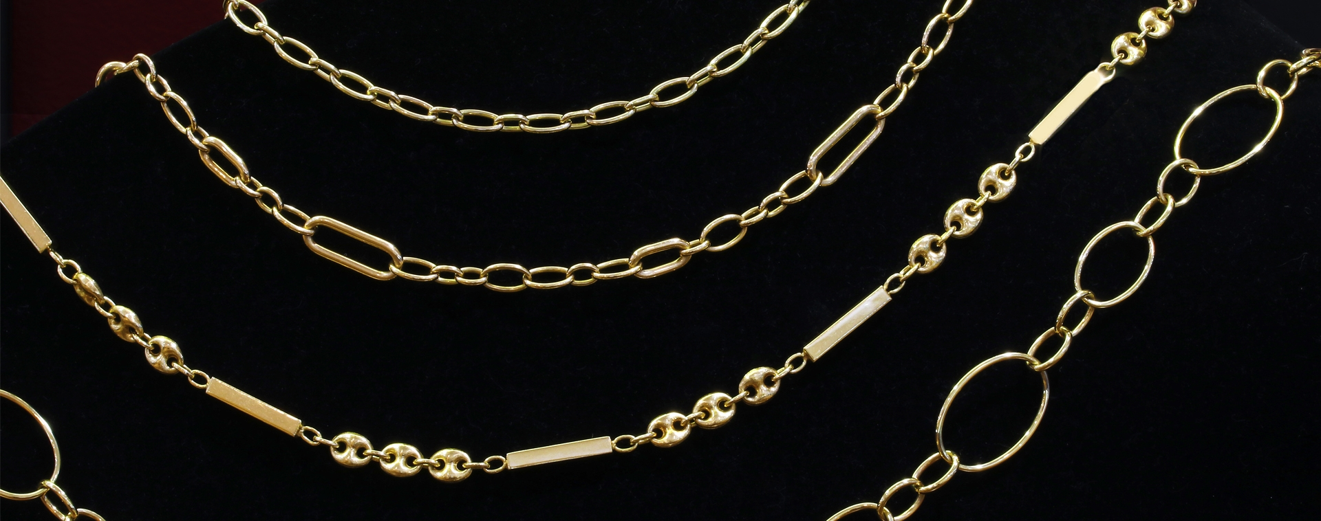 Gold Link Chains